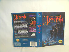 Bram Stoker's Dracula -Sega Genesis Art Work Sheet Only! *original Sega*