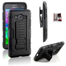 Samsung Galaxy Grand Prime G530 iRob Hybrid Belt Clip Holster +Tempere