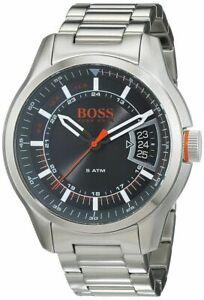Hugo Boss 1550004 Orange Men's Hong Kong Stainless Steel Bracelet Date Watch