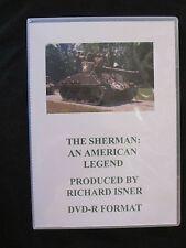 DVD: The Sherman: An American Legend Volume I - M4A1, M4A3, M4A3E8, M4A1E8