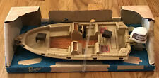 Vintage Tim-Mee Toy No. 3555 Ranger Johnson Bass Boat - Made In Usa - New