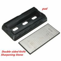 400#/1000# Double Sided Diamond Whetstone Sharp Sharpening Stone Knife Sharpener