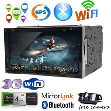 Double 2Din Android 6.0 Car GPS Navigation DVD Player Stereo Radio QuadCore WIFI