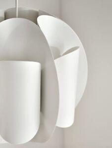 "Ikea Lamp Shade TRUBBNATE Pendant Ceiling Light Shade 204.848.17 White 15"" NEW"