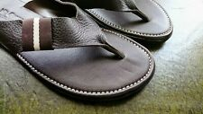 Handmade Pure Leather Men Slippers
