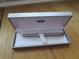 Inoxcrom Chrome Fountain Pen with box