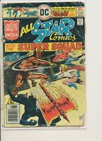 ALL STAR COMICS #60 DC 1976 2nd Appearance of Power Girl