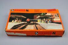 ZC018 Arnold N 1/160 maquette diorama train 6435 quai de gare bahnsteig platform