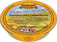 (17,98€/kg) Siedler Hausmacher Leberwurst 20x25g Wurst albfood