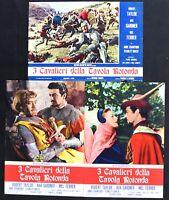 Fotobusta I Ritter Der Tafel Rund Richard Thorpe Robert Taylor R123