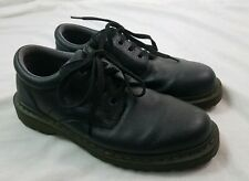 DR MARTENS Leather Shoes Mens 9 Style Ashfeld Work Classic Black