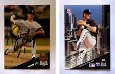 Bobby Thigpen Signed 1993 Leaf #173 Card Chicago White Sox Auto Autograph