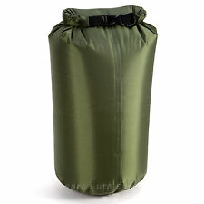 ARMY GREEN 10L DRY SACK WATERPROOF BAG FOLD BAG CANOE KAYAK SWIM SAIL RAFT BOAT