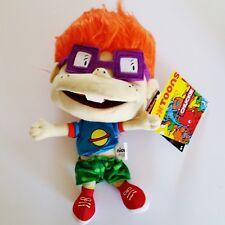"Nicktoons Rugrats Chuckie Plush Doll 11"" Red Head Boy Toy Nickelodeon 1012 NWT"