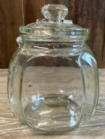 Gorgeous Antique Glass Patterson Tuxedo Tobacco Humidor Jar Country Store