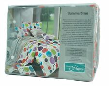 North Home Summertime Twin Sheet Set