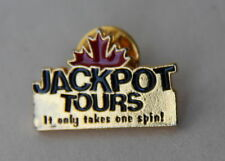 Jackpot Tours It Only Takes One Spin Lapel Hat Pin