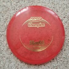 Gently Used Innova Champion Shark3 Red 175 Grams Gold Stamp