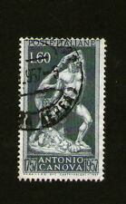 FRANCOBOLLO ITALIA: Poste Italiane-ANTONIO CANOVA 1757 - 1957-Nero 60 LIRE