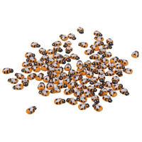 100 Stück Holz Bienen verschönerungen für Scrapbooking Handwerk