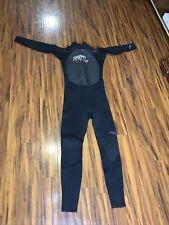 Hyperflex Mens Wetsuits Cyclone Fullsuit Black Back Zip Men's Size XLL