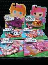 Lalaloopsy Sew Magical Cute Doll OVERALLS PARTY DRESS PAJAMA COAT SHOES Lot of 6
