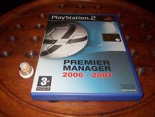 Premier Manager 2006 2007  PS2 Playstation 2 ITA / ESP - PAL