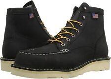 """Мужские ботинки Danner бык запустить Moc 6"""" кожа рабочие ботинки 15568 черный"""