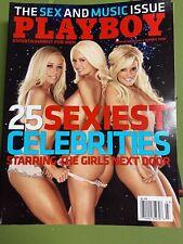 Playboy Magazine March 2008 Playmate & PMOY Ida Ljunggist Near Mint Condition