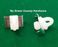 2 Silent Gliss Twist & Turn curtain track end stops VW campervan motorhome