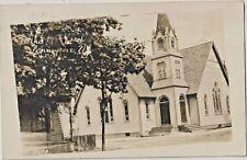 RP Real Photo PENNS GROVE NJ Bethel Methodist Church 1916