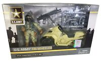 U.S. Army Tri-Wheeler Soldier Action Figure Playset - BRAND NEW!!!