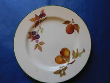 "ROYAL WORCESTER EVESHAM VALE SIDE BREAD PLATE 8.25"" Blackberry + Peach + Pears"