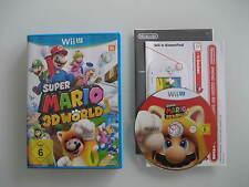 Super Mario 3D World NINTENDO WII U - NEU!