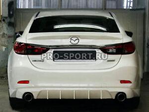2012 2013 2014 2015 2016 2017 2018 Mazda 6 rear bumper diffuser lip spoiler abs