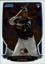 2013 Bowman Chrome Draft Baseball Card #17 Marcell Ozuna Rookie
