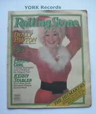 ROLLING STONE MAGAZINE - Issue 332 December 11th 1980 - Dolly Parton / B-52's