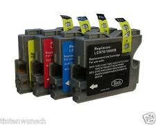 4 Cartouches D'Encre Compatible avec Brother DCP130C DCP135C MFC235C,MFC240C