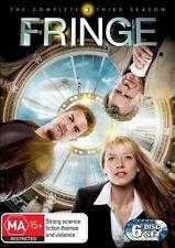 FRINGE Season 3 DVD - 6 Disc set R4 - PAL - New