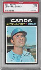 1971 Topps Baseball Jerry McNertney #286 PSA 9