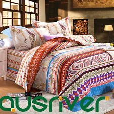 Premium Baroque Style Double Queen Size Bedding Doona Quilt Cover Set 100%Cotton