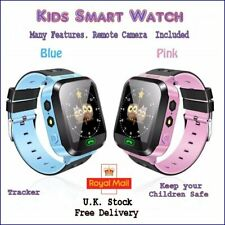 Kids Tracker Watch Childs Smart Watch GPRS and LBS Tracking. Remote Camera
