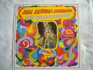 JIMI HENDRIX LP ARE YOU EXPERIENCED 1967. BARCLAY 820143 TRÈS BON ETAT VOIR SCAN