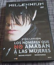 MILLENNIUM 1 LOS HOMBRES QUE NO AMABAN A LAS MUJERES - DVD + EXTRAS - NEW NUEVA