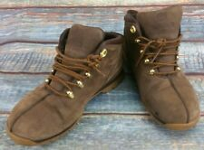 Men Brown Suede Timberland Boots Lace Ups UK Size 5.5