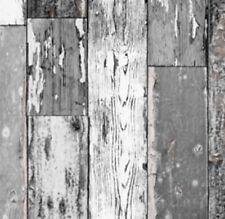 Klebefolie Holzdekor Möbelfolie Holz Scrapwood grau dunkel  90 cm x 200cm Dekor