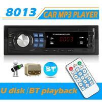 SWM 8013 1 DIN Car StereoMP3 PlayerHead Unit Bluetooth USB AUX Radio Unit