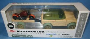 Automoblox X10 Timber Pack, (SUV & Motorcycle) ... new in the box