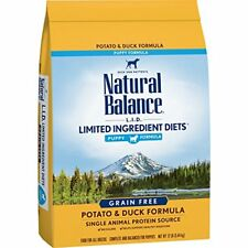Natural Balance Puppy Formula L.I.D. Limited Ingredient Diets Dry Dog Food