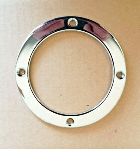AC Cobra Chrome Trim Ring New Reproduction Ford 1963-Up Tiger 4 Speed Shifter